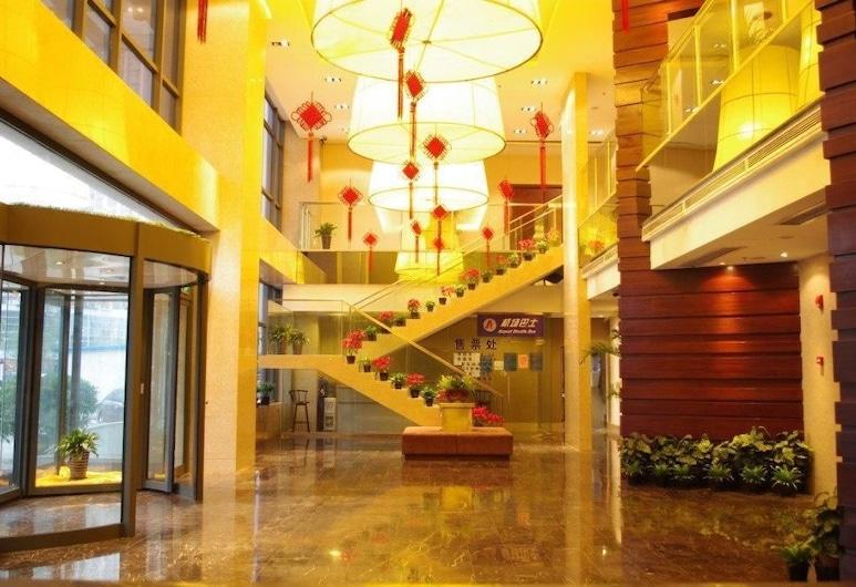Sun Flower Hotel - Beijing, Tongzhou, Vestibiulis