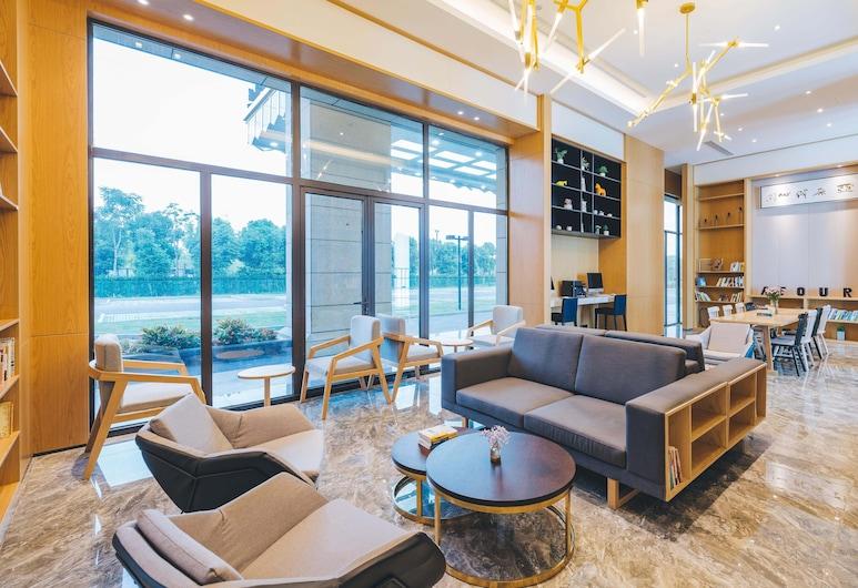 上海虹橋國展北新涇地鐵站亞朵輕居酒店, 上海市, 大堂閒坐區