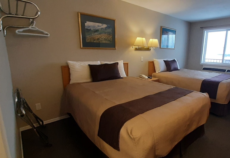 Mary's Motel, Golden, Chambre Deluxe, 2 grands lits, Chambre