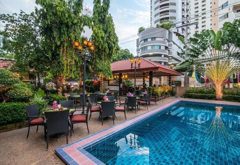 Stable Lodge, Bankokas, Lauko baseinas