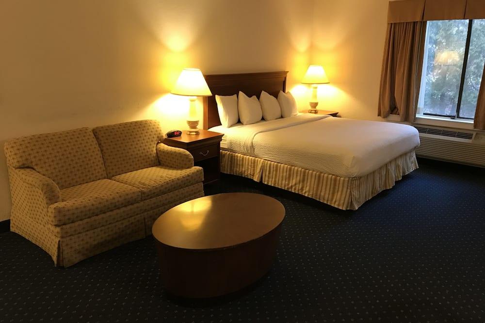 客房, 1 張特大雙人床, 吸煙房 - 客房