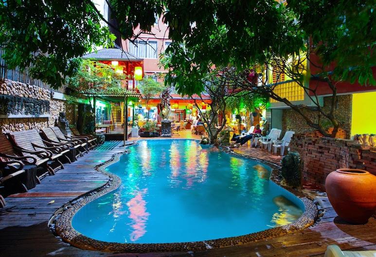 Villa Cha Cha Banglumphu, Μπανγκόκ, Εξωτερική πισίνα