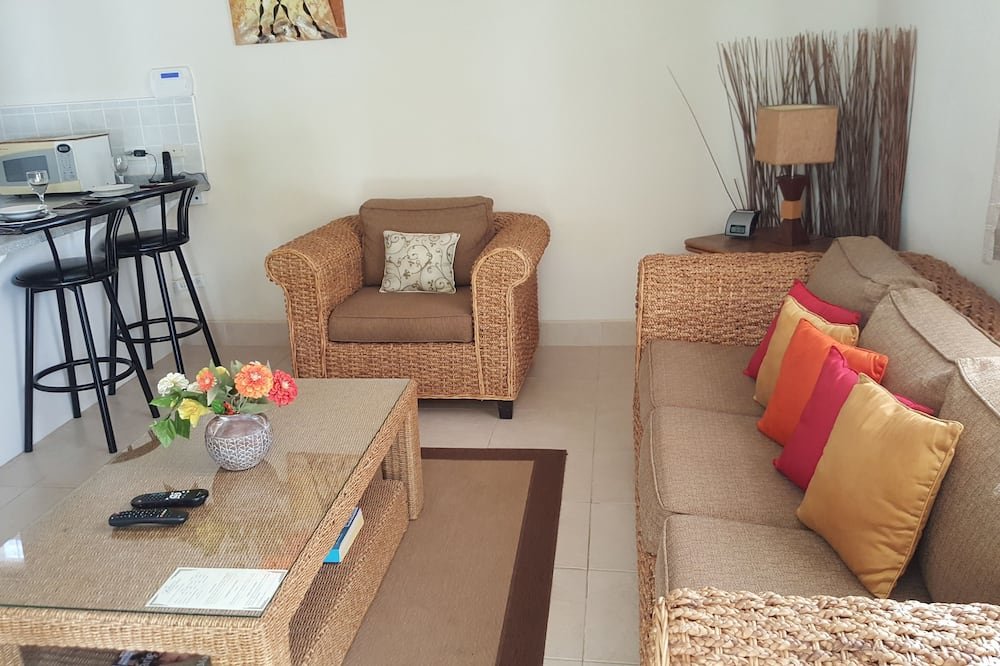 Апартаменти «Делюкс», 1 спальня (Apt 6) - Вітальня
