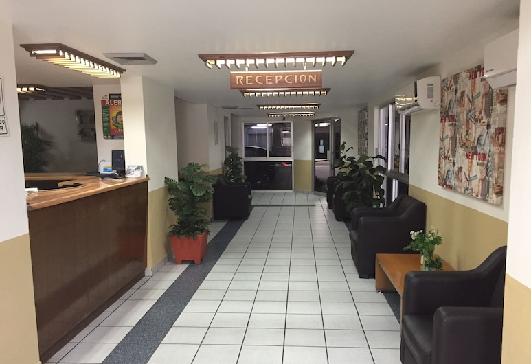 Link Hotel, Culiacan, Quầy tiếp tân
