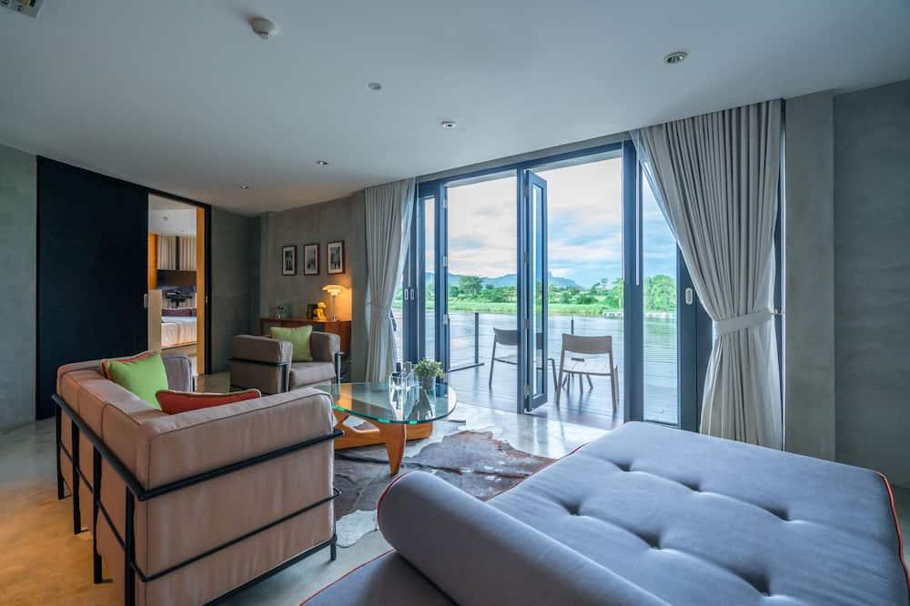 Luxe Cabin Suite - Obývačka