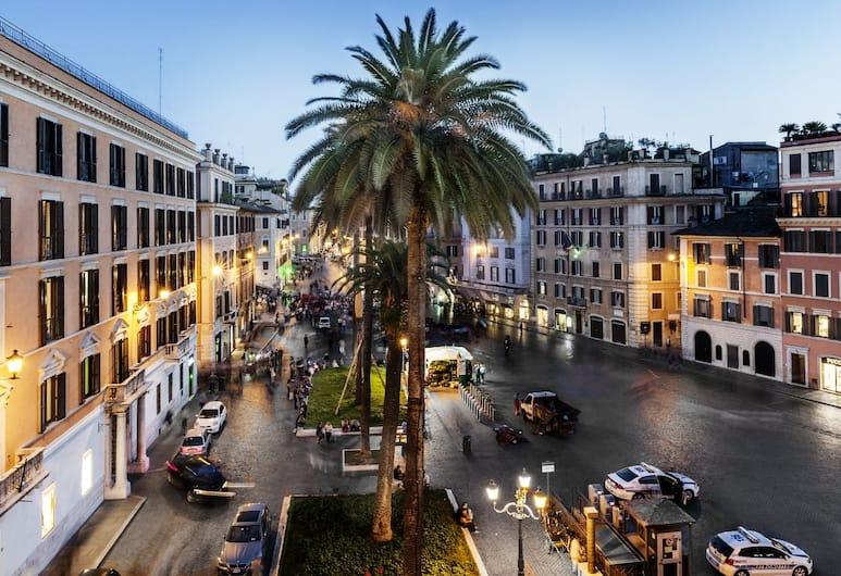 Piazza di Spagna 9, Rom, Junior-suite - byudsigt, Udsigt fra værelset