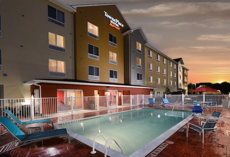 Towneplace Suites by Marriott Houston Westchase, Houston, Piscina externa