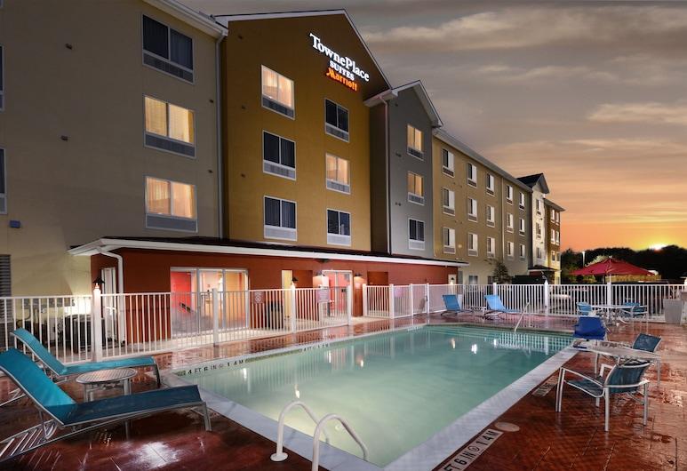 Towneplace Suites by Marriott Houston Westchase, Houston, Vonkajší bazén