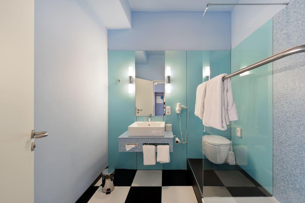 Išskirtinio dizaino vienvietis kambarys, 1 miegamasis, Nerūkantiesiems - Vonios kambarys