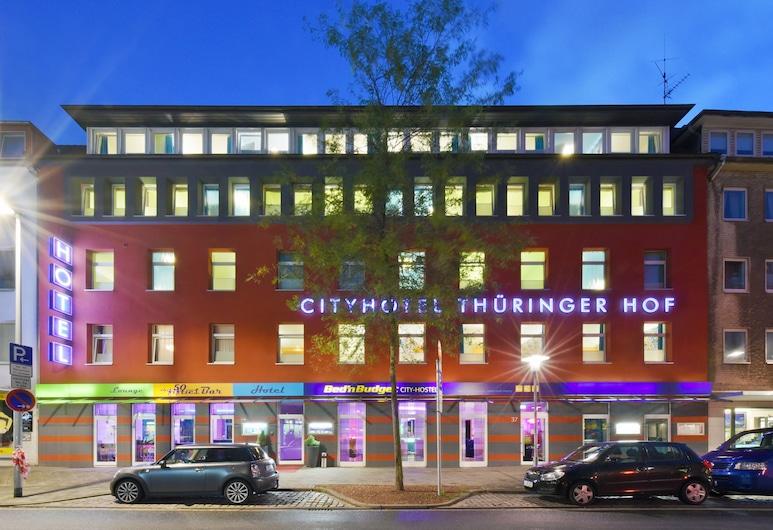 Cityhotel Thüringer Hof Design Hannover, Hannover, Voorkant hotel - avond/nacht