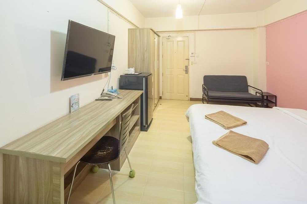 Deluxe One Double Bed Room - منطقة المعيشة