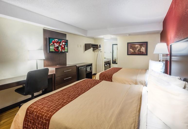 Red Roof Inn Hershey, Hershey, Deluxe Room, 2 Queen Beds (Smoke Free), Guest Room