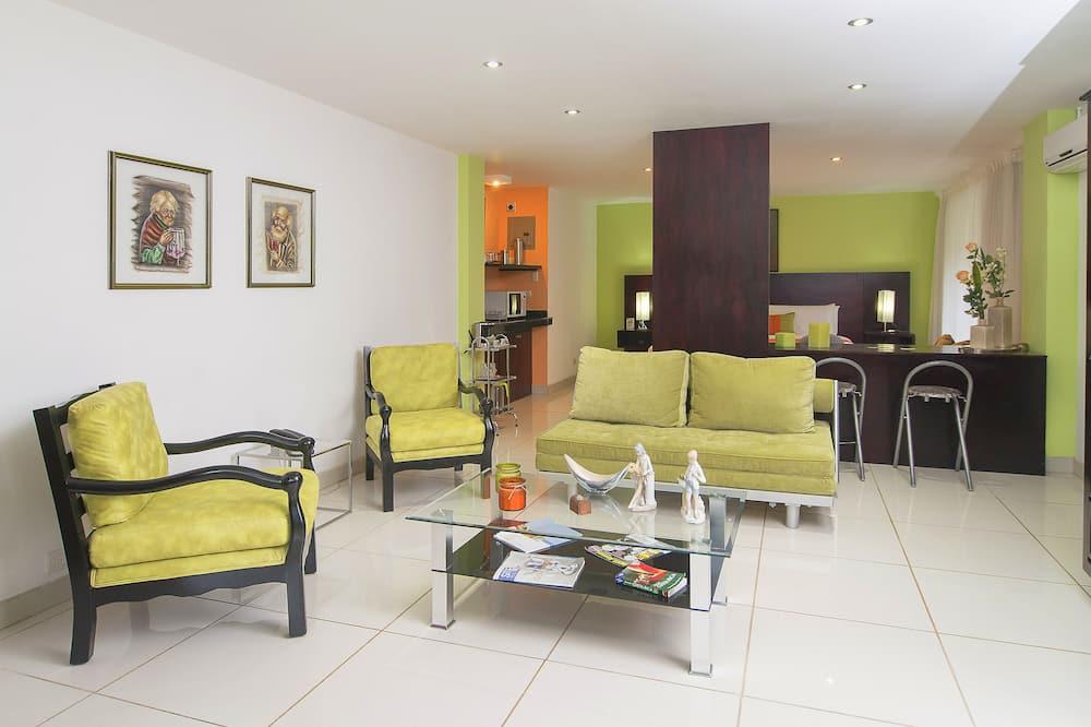 Deluxe Studio - Living Area
