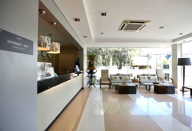 茜茜里拉德羅130飯店, 曼谷, 大廳休息區