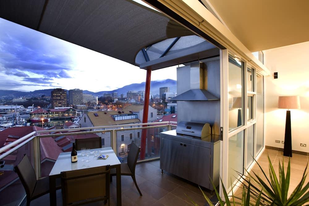 Two Bedroom Penthouse - IXL Apartments - Balcony