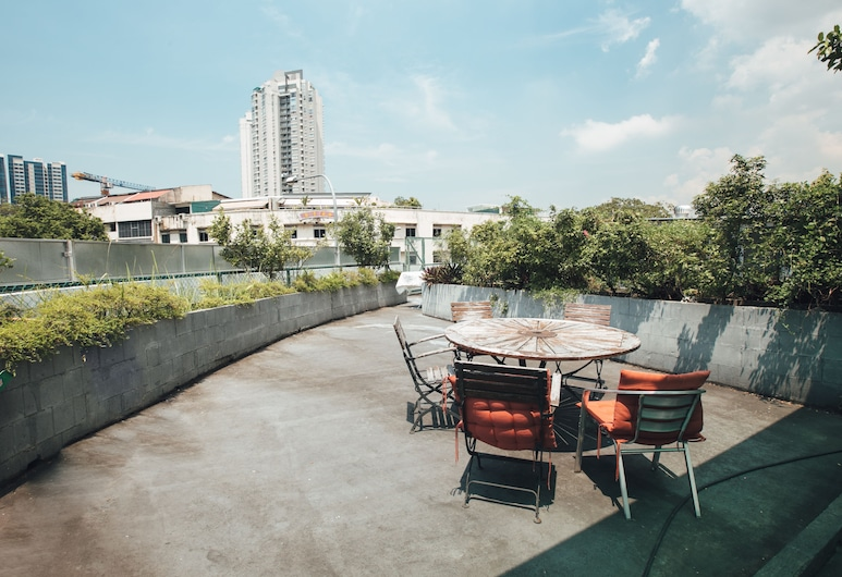 背包青年旅舍 @ 勞明達街 - SG Clean, 新加坡, 露台