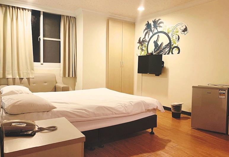 Easy Inn International Hostel, Tainan, Klasikinio tipo dvivietis kambarys, 1 standartinė dvigulė lova, Svečių kambarys