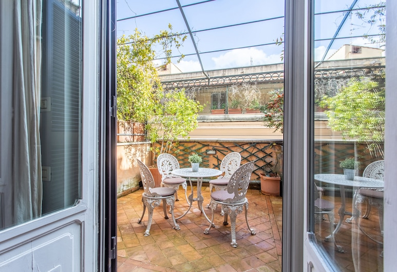 Frattina Apartments, Rome, Apartment, 1 Bedroom, Terrace (Spit Level), Balcony