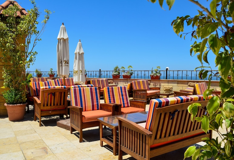 Cherry Maryski Hotel, Alexandria, Terrasse/patio
