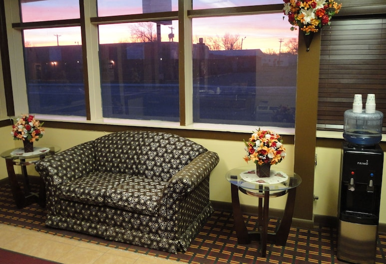 Sands Motel, Dalhart, Lobby Sitting Area