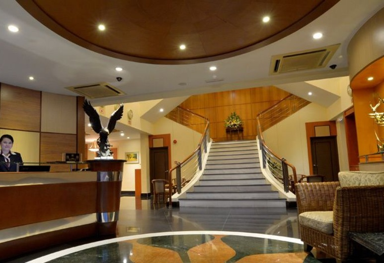 Asiana Hotel, Kota Kinabalu, Vestibiulis