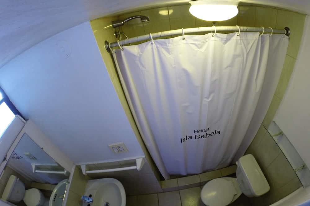 Pamatklases numurs, 1 divguļamā karalienes gulta, privāta vannasistaba - Vannasistaba