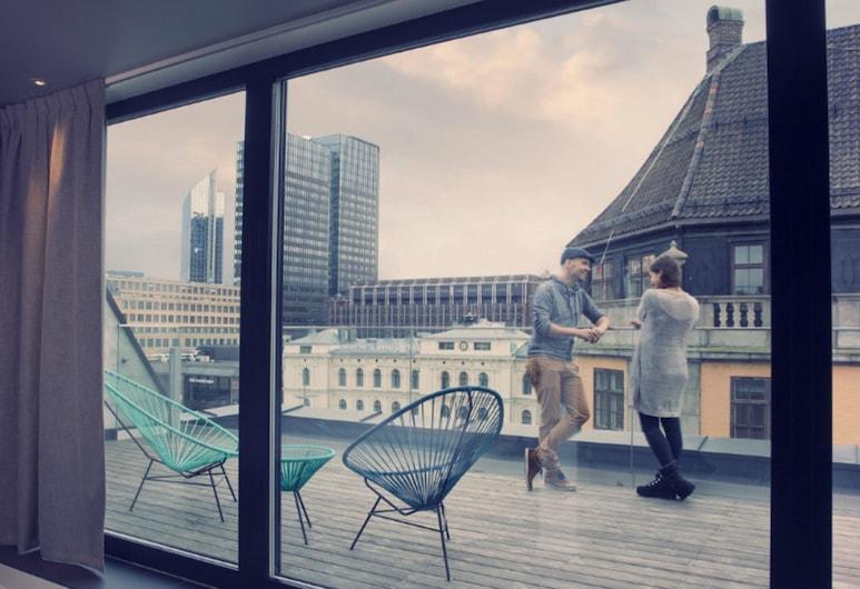 Comfort Hotel Xpress Central Station, Oslo, Quarto Superior, 1 cama de casal, Não-fumadores, Quarto