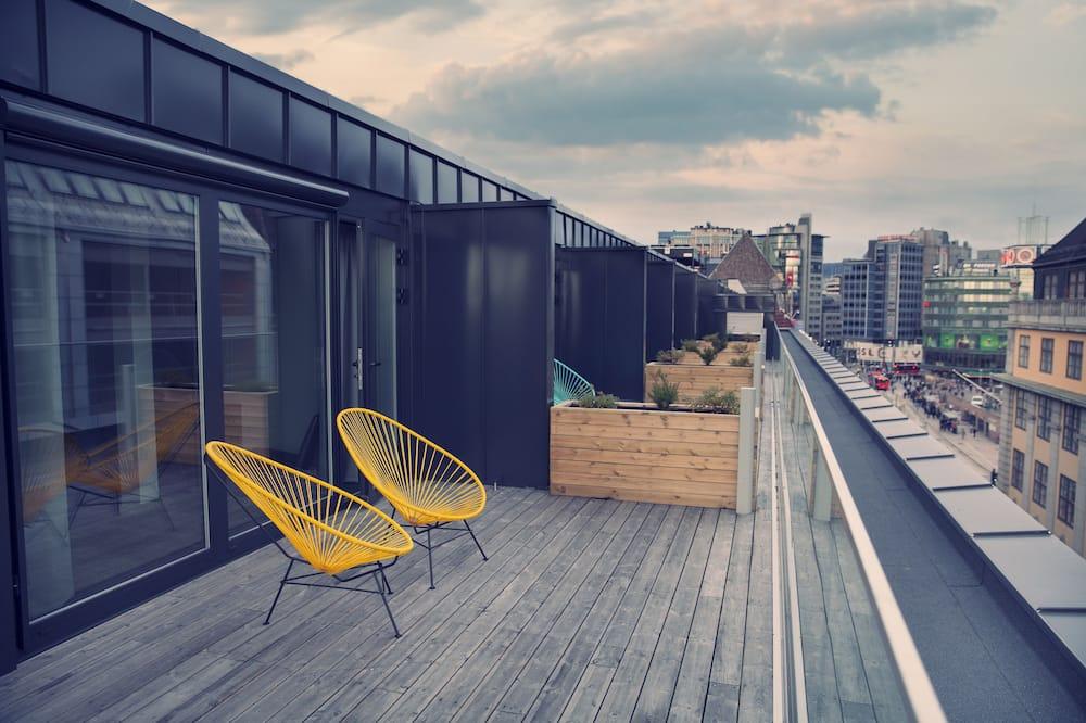 豪華客房, 2 張單人床, 非吸煙房 - 陽台景觀