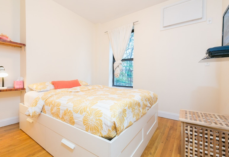 Classy and Cozy, New York, Appartement, 1 slaapkamer, Woonkamer