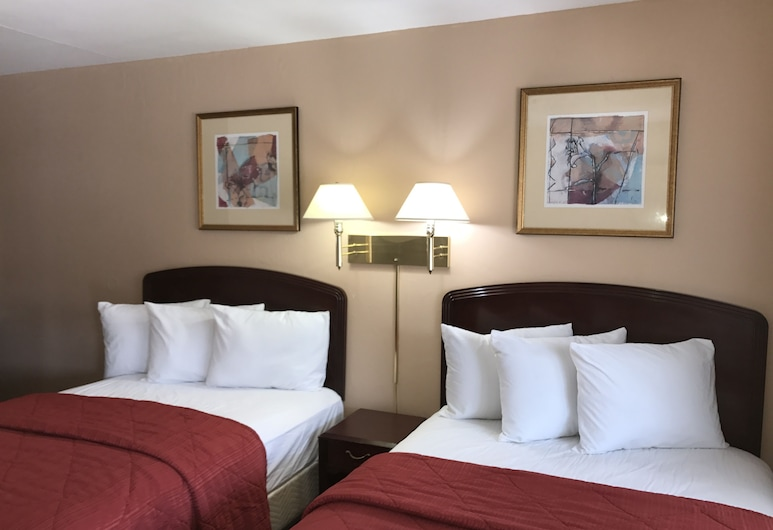 Red Bluff Inn, Red Bluff, Standard Double Room, Guest Room