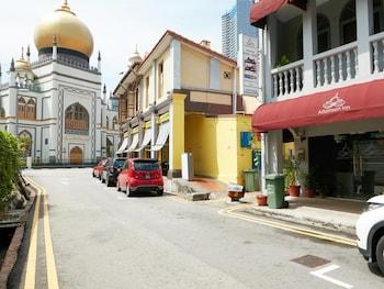 싱가포르의 아담슨 인 사진