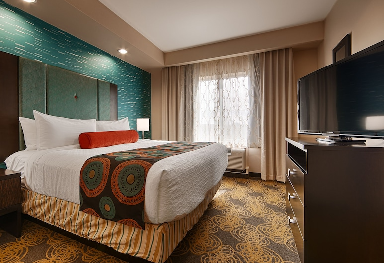Best Western Premier Ashton Suites-Willowbrook, Houston, Phòng Suite, 1 giường cỡ king, Không hút thuốc, Bếp nhỏ, Phòng