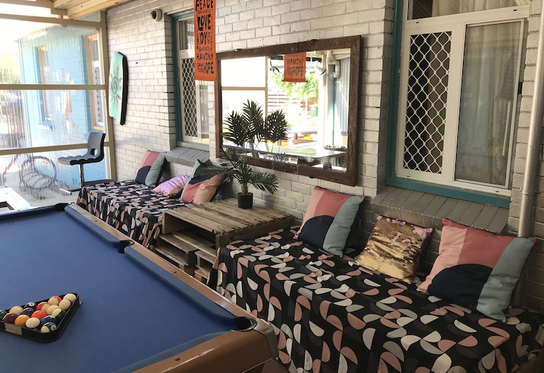 Wander Inn – Bunbury Backpackers, Banberis, Poilsio zona vestibiulyje