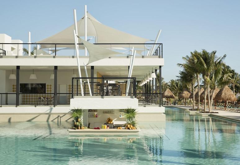 Finest Playa Mujeres by The Excellence Collection  All inclusive, Punta Sam, Havuz barı/havuz içinde bar