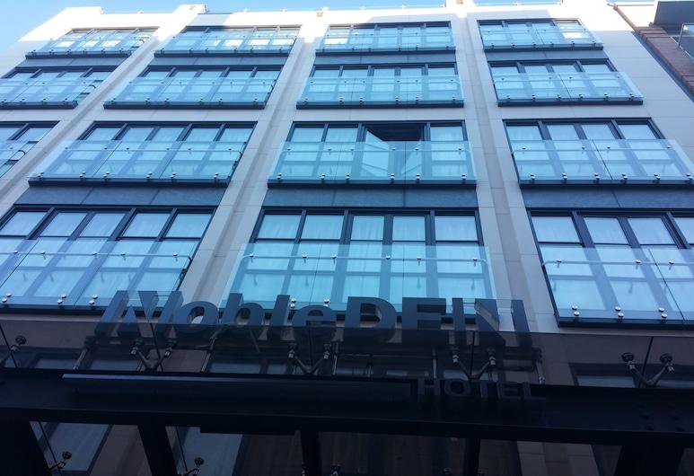NobleDEN Hotel, Nova York, Fachada do hotel