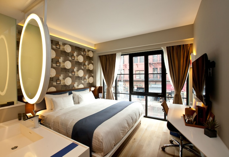 NobleDEN Hotel, New York, Room, 1 King Bed (City View or Courtyard View), Guest Room