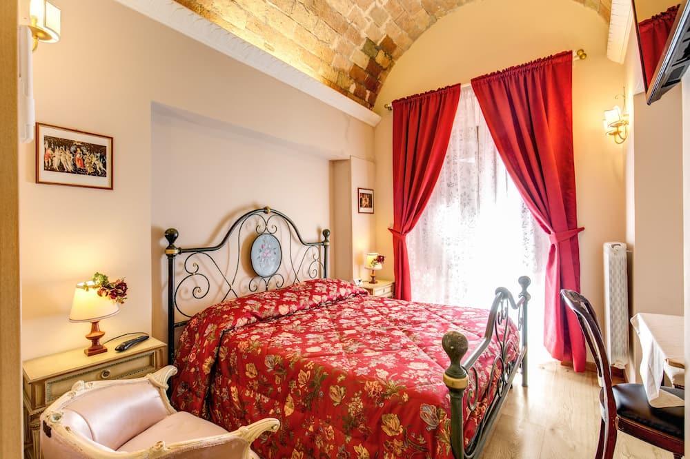 Двухместный номер с 1 двуспальной кроватью - Зона гостиной