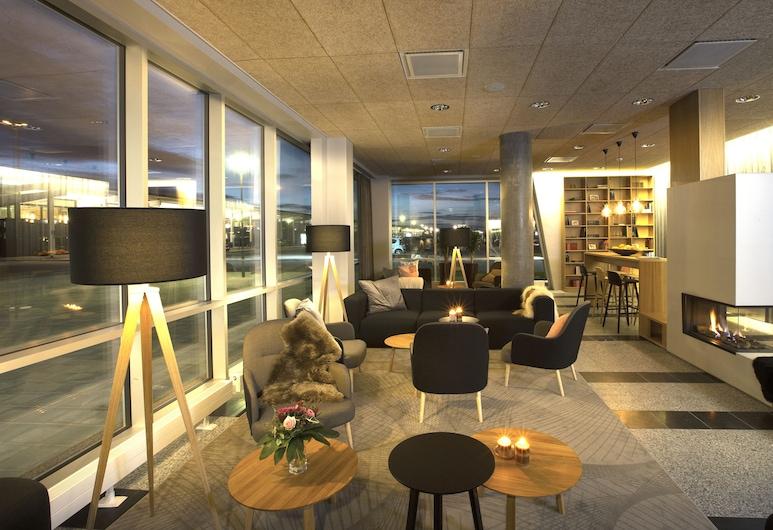 Aalborg Airport Hotel, Norresundby, Poilsio zona vestibiulyje