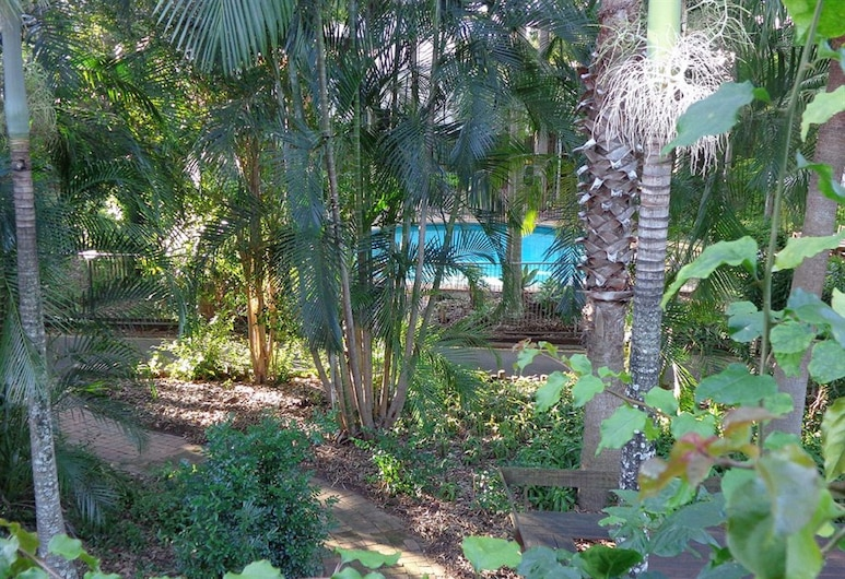 Forest Lodge Apartments, Indooroopilly, Viešbučio teritorija