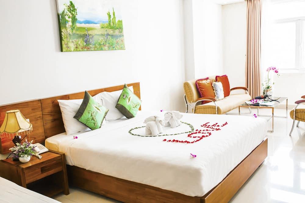 Suite Premier, 1 cama King size, para no fumadores, vista al mar - Sala de estar