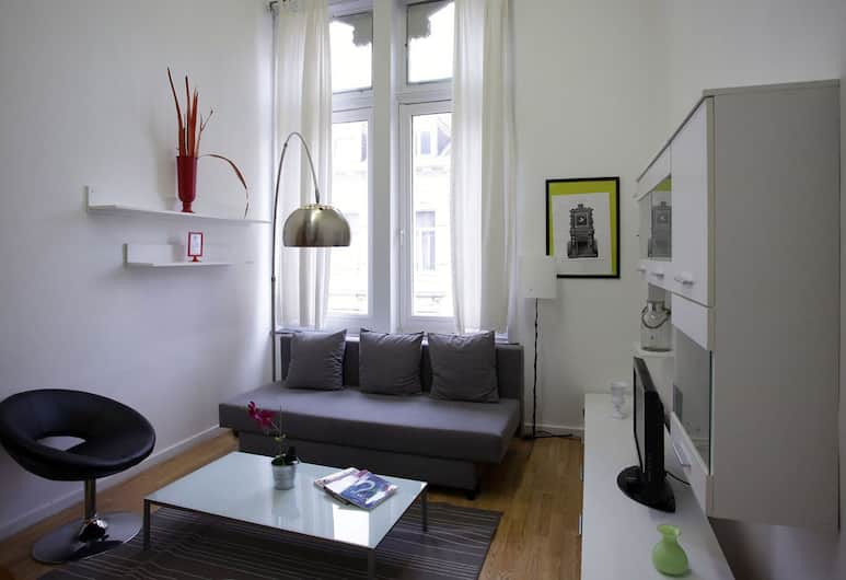 Brussels City Center Apartments, Brussels, Studio (Duplex XL), Living Room