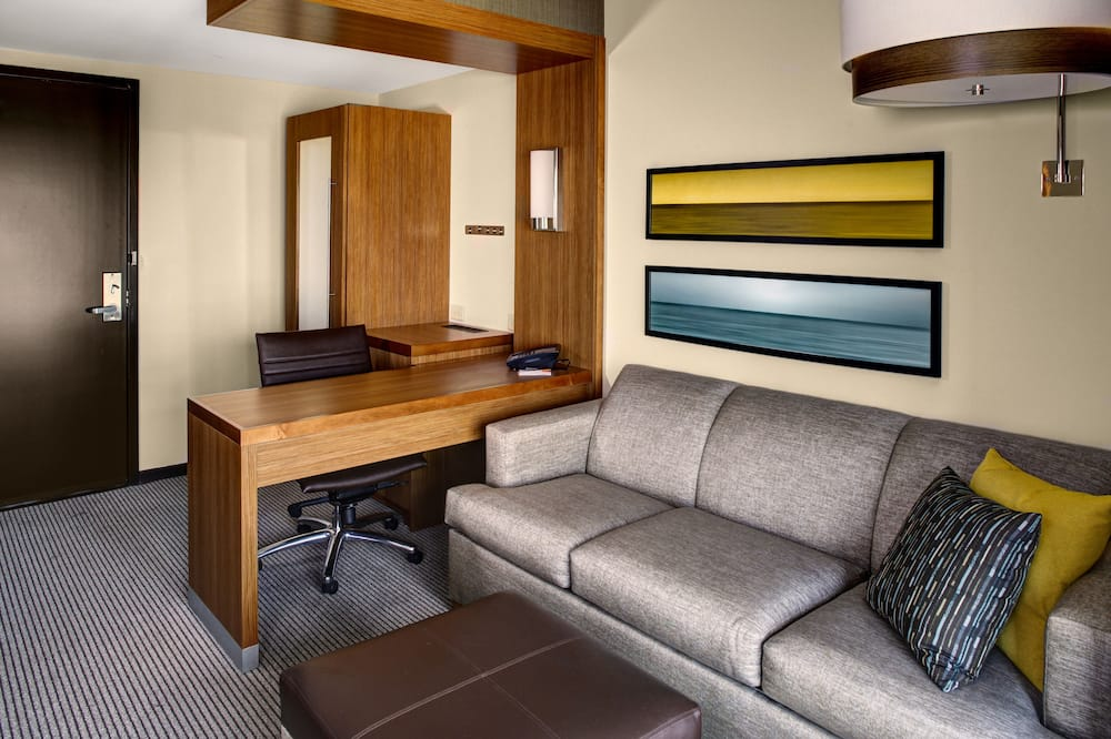 Studio, 1 kingsize bed met slaapbank - Woonruimte