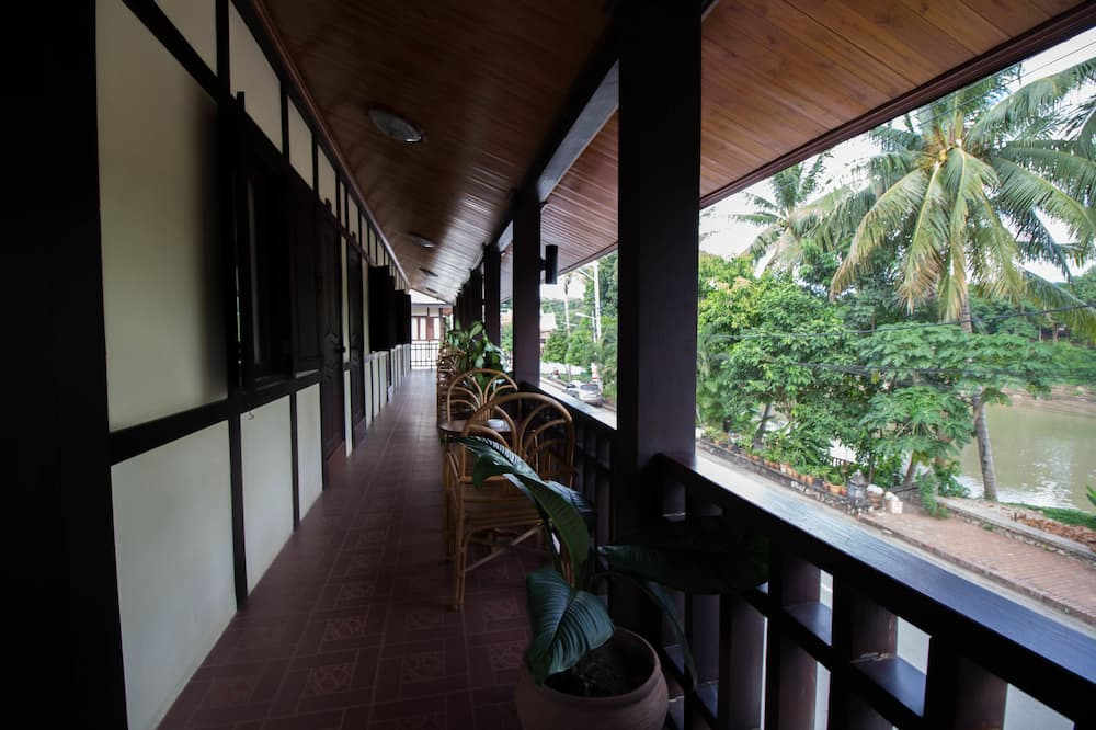 Deluxe Double with balcony river view  - バルコニー