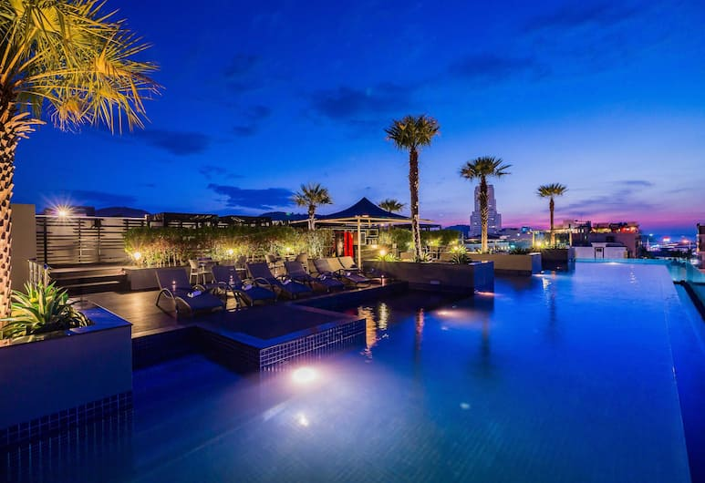 貝斯特韋斯特巴東海灘酒店, 巴東, 酒店景觀