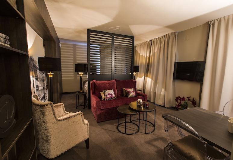 Saga Apartments Oslo, Oslo, Leilighet – superior, Rom