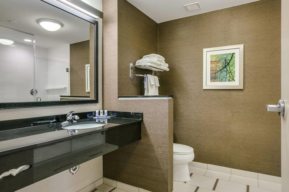 Suite, 1 kingsize bed, niet-roken - Badkamer