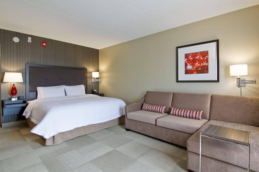 Δωμάτιο, 1 King Κρεβάτι με Καναπέ-Κρεβάτι, Ψυγείο & Φούρνος Μικροκυμάτων - Περιοχή καθιστικού