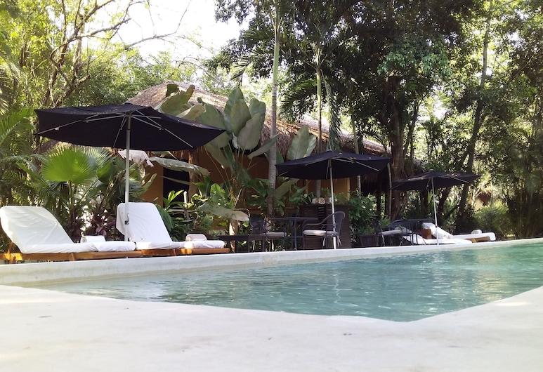Piedra de Agua Hotel Boutique Palenque, Palenque, Patio
