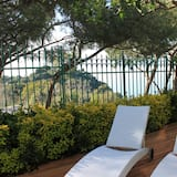 Superior Double Room Single Use, 1 King Bed, Hot Tub, Partial Sea View - Terrace/Patio