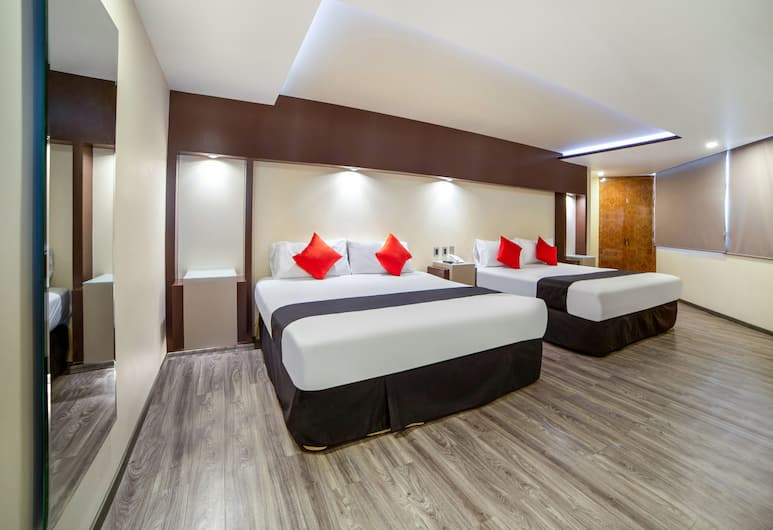 Capital O Vallejo, Mexico City, Deluxe Room, Multiple Beds, Guest Room
